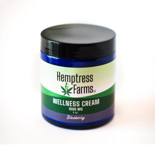 Blueberry CBD Wellness Cream
