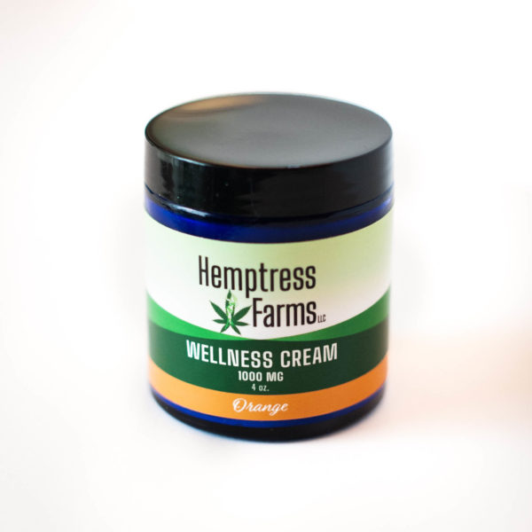 Orange CBD Wellness Cream